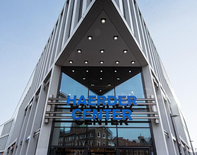 Haerder Center Frontansicht vom Gebäude