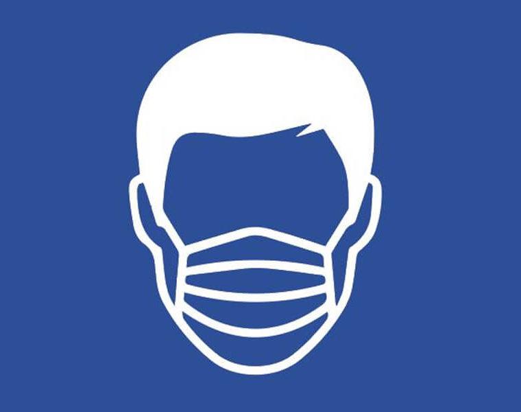 Maskenpflicht im Haerder-Center